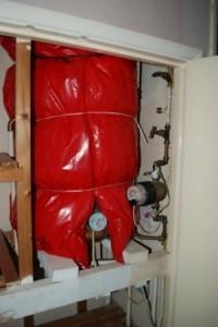 cylinder insulation