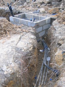 heat pump pipes
