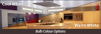 LED bulb colours
